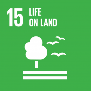 Sustainable Development Goal 15, Life on Land: Sustainably manage forests, combat desertification, halt and reverse land degradation, halt biodiversity loss