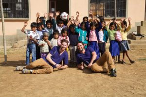 Feed and educate children with Matt Moreau and Kori Chilibeck, Earth Group