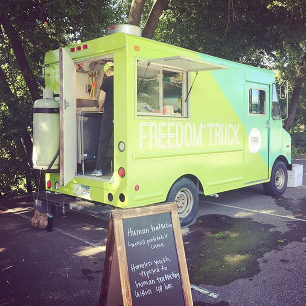 The Freedom Truck from Stories Foundation