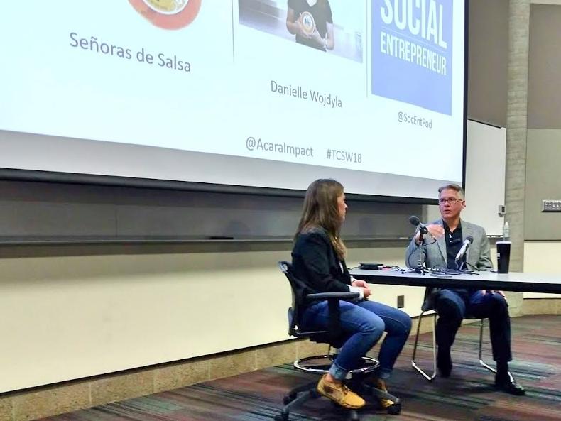 Danielle Wojdyla, Señoras de Salsa at Social Entrepreneur Live