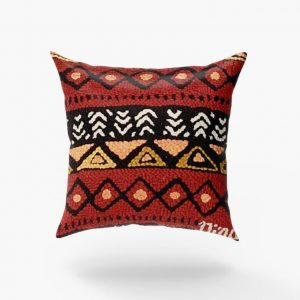 One of a kinds geometric design pillow